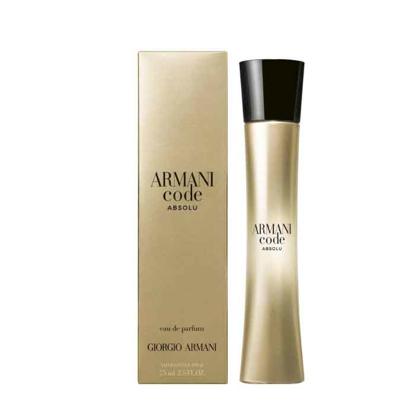 Picture of Armani Code Absolu Pour Femme Eau de  Women Parfum 75ml
