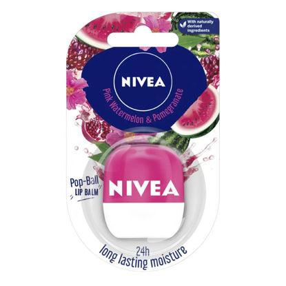 صورة نيفيا بلسم شفاه مغذي بالبطيخ الوردي 7 جرام